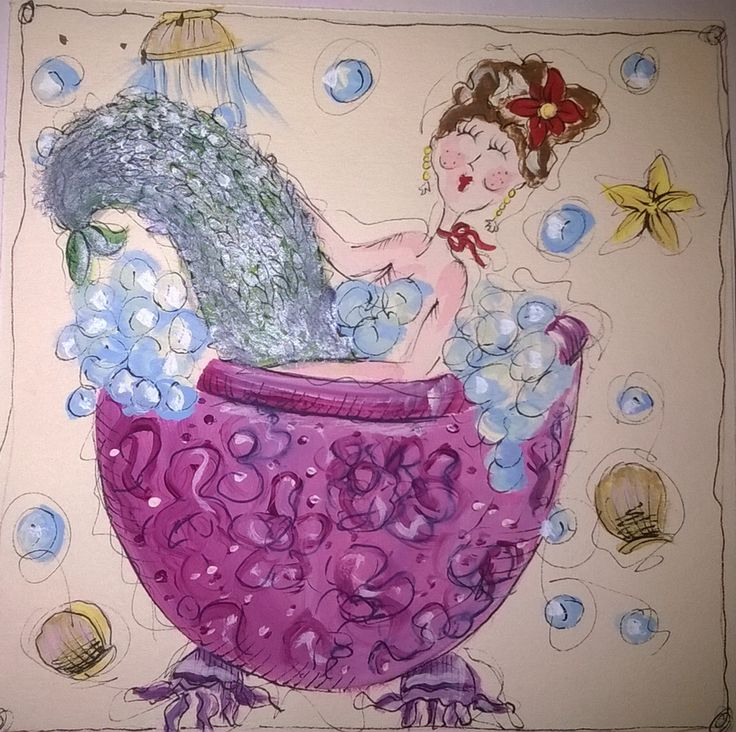 Sirena al bagno
