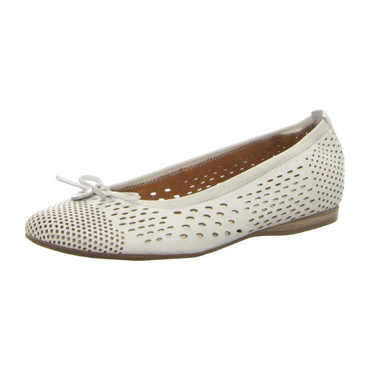 NEU: Tamaris Ballerinas 1-1-22107-28-100 - white -