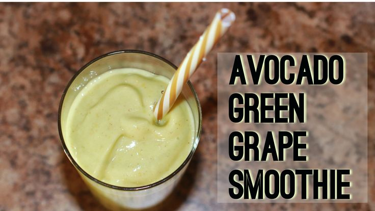 This Avocado Green Grape Smoothie is not your ordinary green smoothie! The seedless green grapes steal the show. The grapes are sweet and delicious, maybe even a little sour on their own, but pairing them with the creamy avocado and the coconut nectar juice mellows them right out. Then you add that kick of cinnamon.