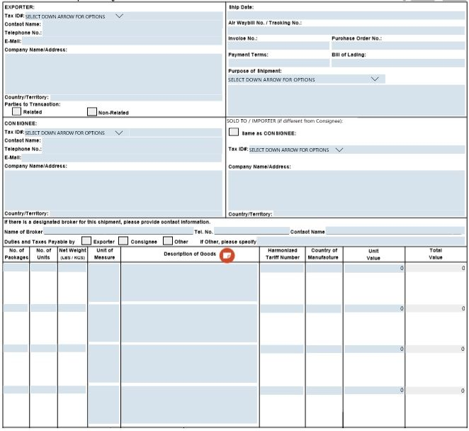 Commercial Invoice Sample Template Invoice Sample Invoice