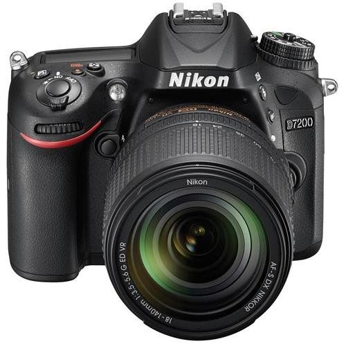Introducing the Nikon D7200 Digital SLR Camerawith AF-S DX NIKKOR 18-140mm f/3.5-5.6G ED VR Lens the star of Nikons DX-format line-up. Bring your creative vision to life with photos and videos that...
