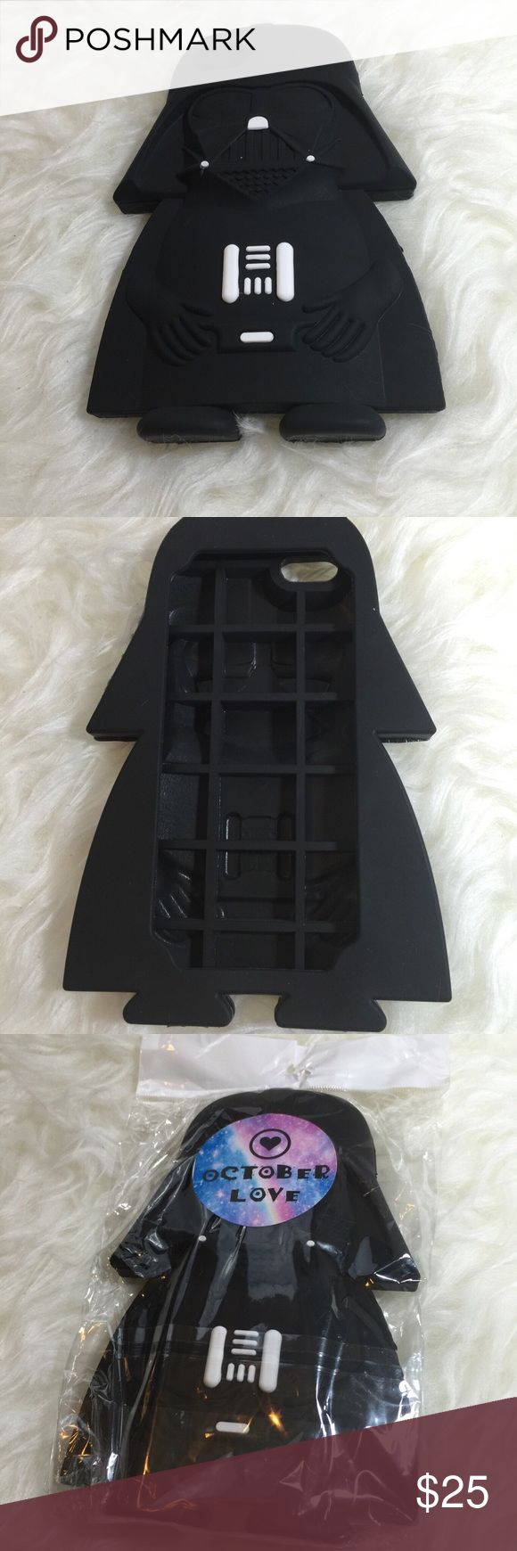 Star Wars iPhone 6/6s Case Star Wars iPhone 6/6s case. Provides protection to the back and sides of phone. High flexibility. TPU material. October Love Accessories Phone Cases