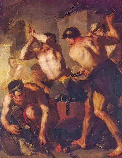 Το σιδηρουργείο του Ηφαίστου 1660