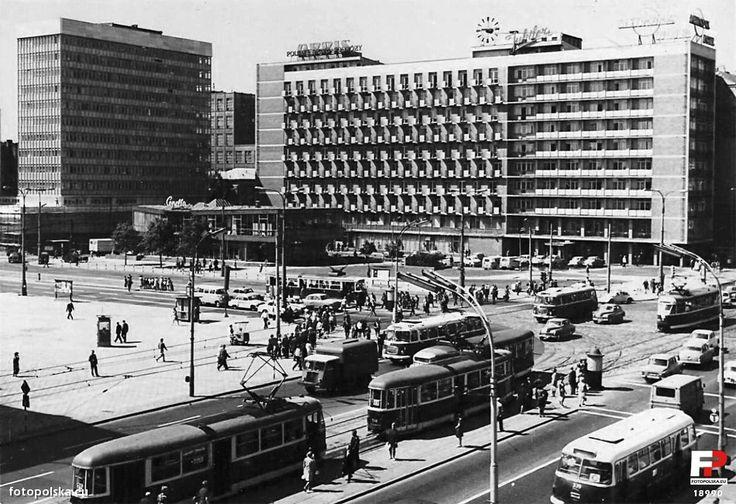 """Hotel """"Metropol"""", Warszawa - 1971 rok, stare zdjęcia"""