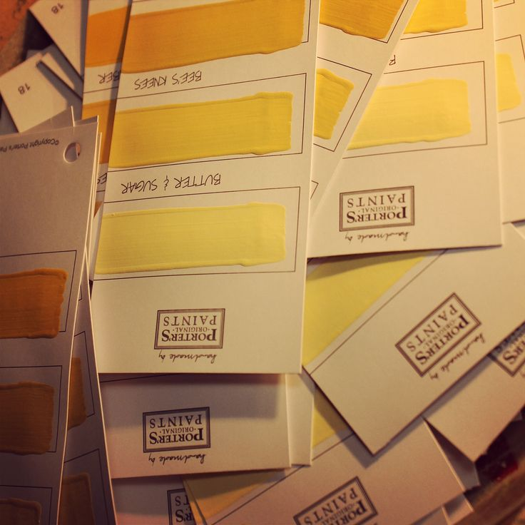 We kept nice and warm in Porter's Paints today as we created pages of sunny yellows for our iconic handmade fandecks. Available in store and online!