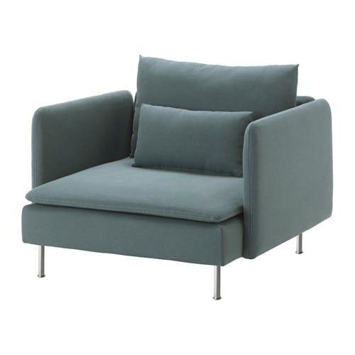 SÖDERHAMN Armchair - Samsta light pink | Ikea armchair ...