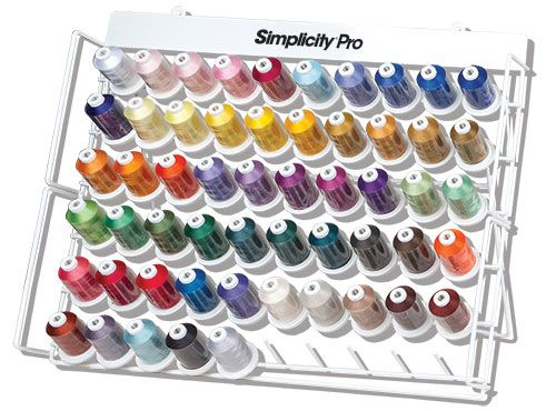 Brother USA   Simplicity Pro® Embroidery Thread Set