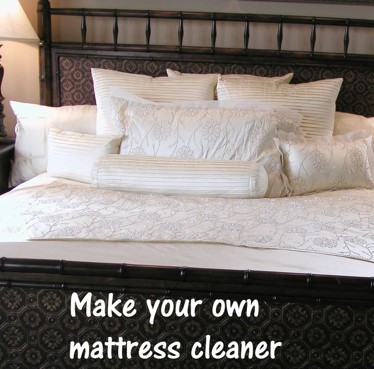how to clean mold mattress