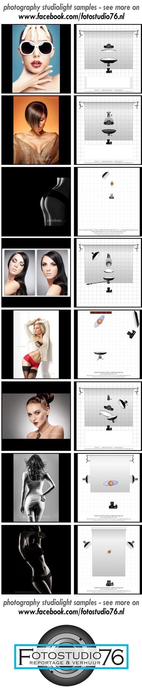 Studio inspiratie opstellingen voor in de fotostudio, zo leren we elkaar hoe we doelen kunnen bereiken. Doe mee en deel jou inspiratie met anderen via www.facebook.com/fotostudio76.nl, wordt fan van onze pagina en bekijk alle honderden voorbeelden van licht opstellingen voor eens uit te proberen, doe je mee?: