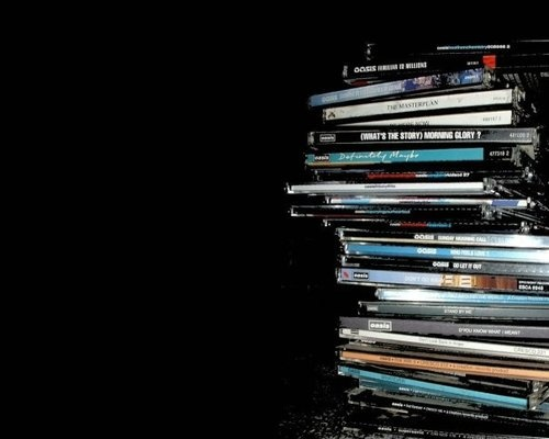 oasis cd collection pretty near complete :P :D