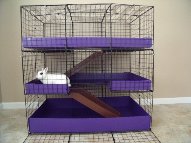 17 best images about diy rabbit cage ideas on pinterest storage cubes house rabbit and cubes - How to make a rabbit cage ...
