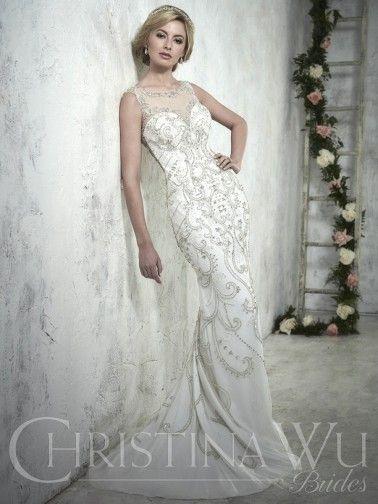 Christina Wu Wedding Dresses - Style 15608