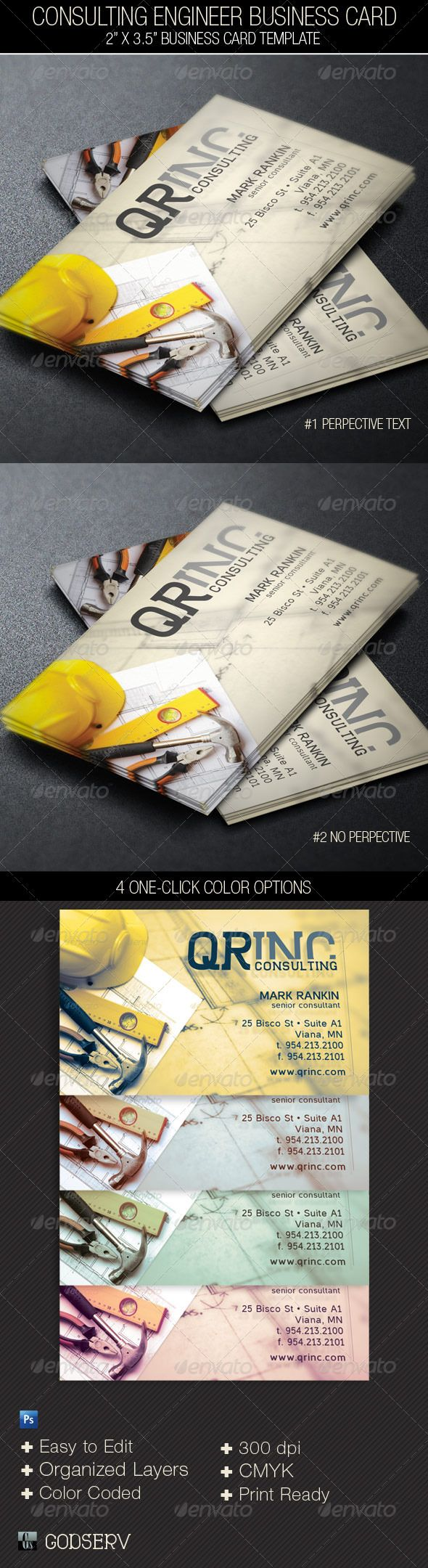 Consulting Engineer Business Card Template PSD. Download here: http://graphicriver.net/item/consulting-engineer-business-card-template/4596529?s_rank=124&ref=yinkira