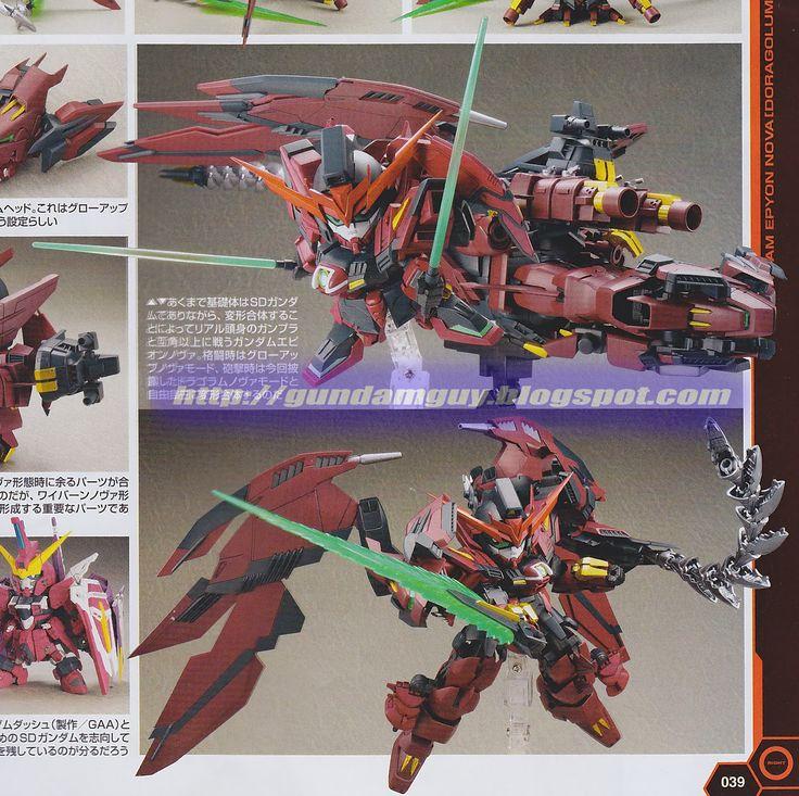 Gundam Guy  Gundam Epyon Nova  Doragolum Nova Mode