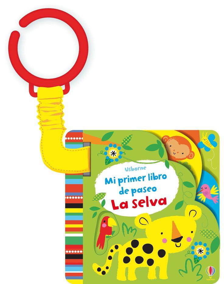 Un libro sencillo y repleto de color, con ilustraciones en vivos colores y grandes contrastes.  #niños #paraniños #librosparaniños #lecturainfantil #literaturainfantil #bebé #bebés #parabebés #peque #libros #libro #selva