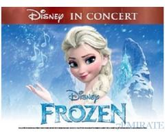 Frozen Concert Tickets for Sale in Abu Dhabi