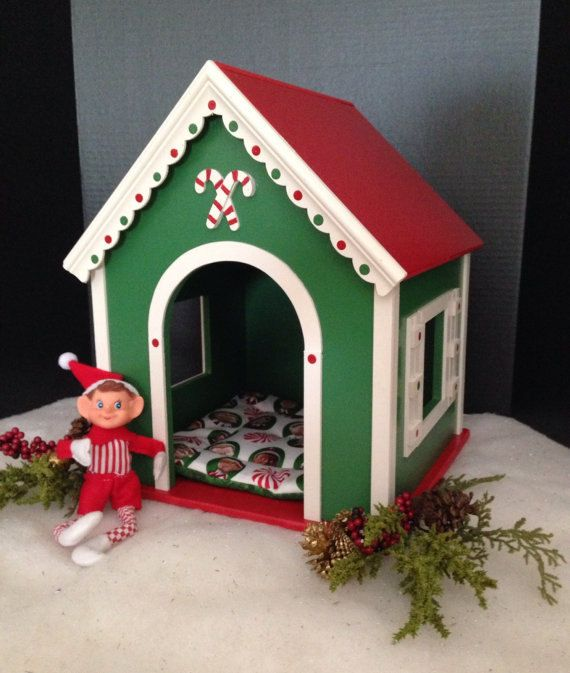 Christmas Pet House House For 18 Inch American Girl Pets And