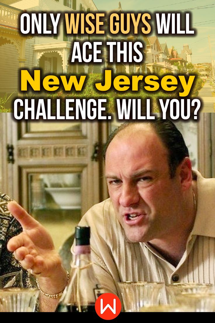 Quiz Only Wise Guys Will Ace This New Jersey Challenge