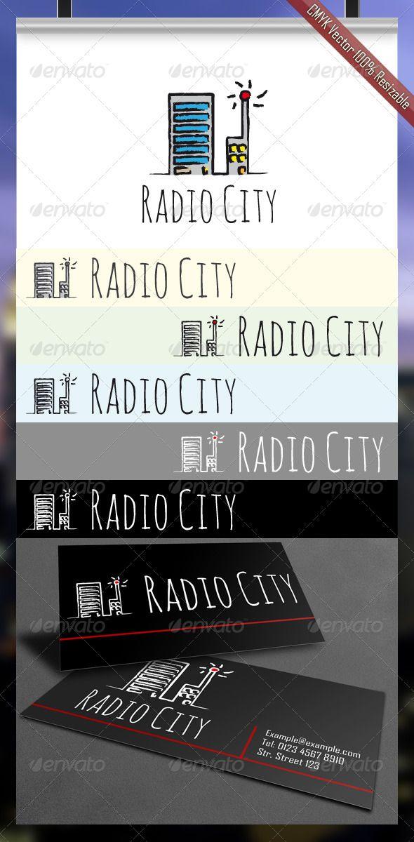 Radio City Logo (Buildings)