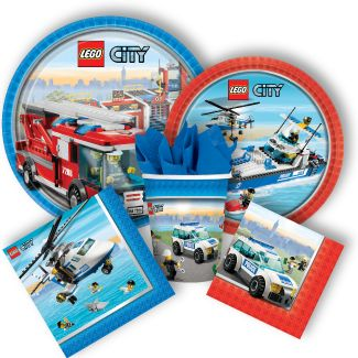 Get your Lego party supplies at A-1 Party & Wedding Rental in Collinsville, Illinois. Lego City Party Supplies