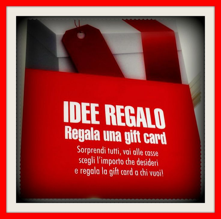 #giftcard #idea #regalo