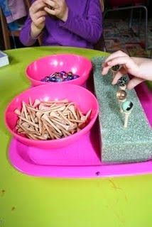 Research shows that fine motor skills are linked to success in writing and academics.I just HAVE to share some of the super fun acti...