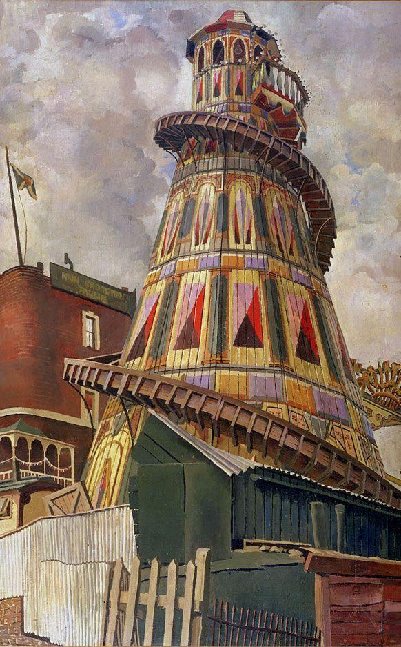 Helter Skelter by Sir Stanley Spencer (1937) ©