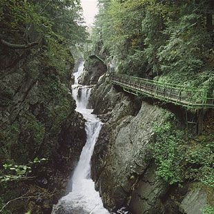 High Falls Gorge in Wilmington NY - A Natural Attraction in Lake George Region | Lake George Guide