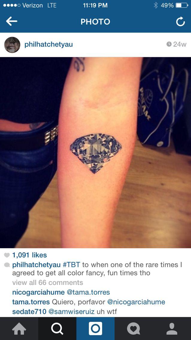 Phil's Realistic Diamond Tattoo-Style for Sailor Moon Tattoo