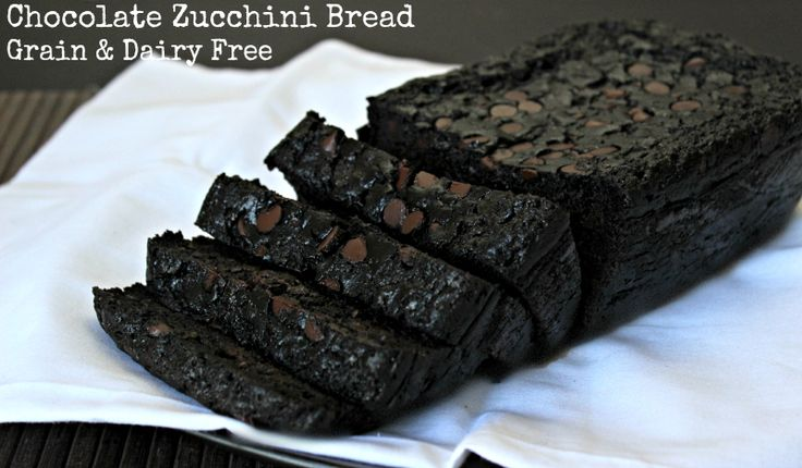 Chocolate Coconut Flour Zucchini Bread- no starch or seed flours snuck in!