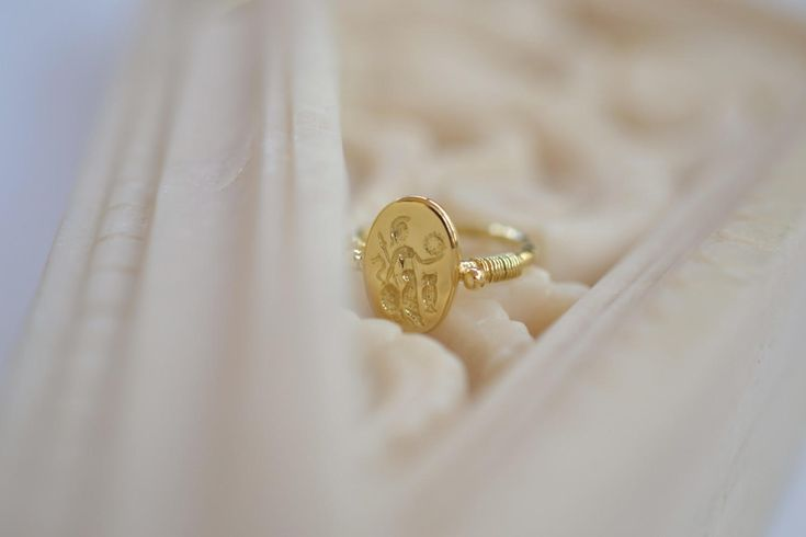 Its the twelfth day of advent!  Check out one of our most popular rings at Viazis Jewelry.  Arts Athena Solid 18k Gold Ring by ViazisJewelry  http://etsy.me/2jw34aY  via @Etsy