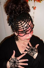 """These are fun and easy Halloween """"mitts"""" that you can crochet in no time! Please treat this not as a strict pattern, but as an initial idea, that is very easy to modify to fit any color, size or taste."""