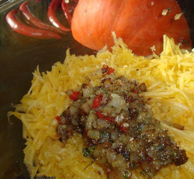 Skanus gyvenimas: Korejietiškos moliūgo salotos