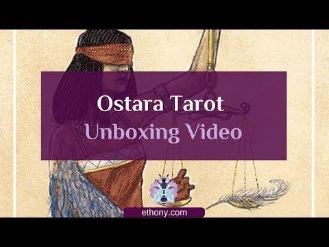 Ostara Tarot Unboxing Full