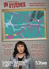 awesome Canadian comedian Katharine Ferns is in Stitches @katharineferns 16 July @53two surviving mental illness #Mentalhealth @TicketWebUK