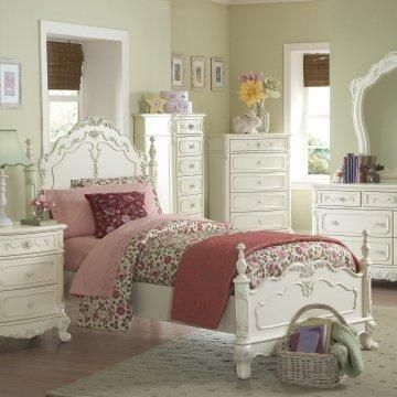 Sophisticated little girl's room.