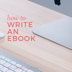 How to Write an eBook - great tips by Amy Lynn Andrews