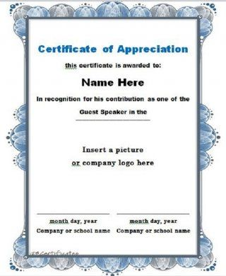 The 25 best sample certificate of recognition ideas on pinterest download certificate of appreciation 02 yelopaper Images