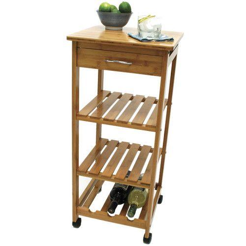 Lipper International Kitchen Cart