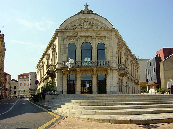 Le théâtre à l'Italienne de Roanne