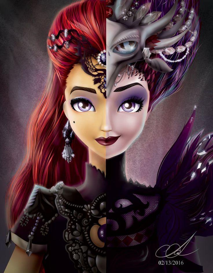 Mira Shards and Evil Queen by Aayov.deviantart.com on @DeviantArt