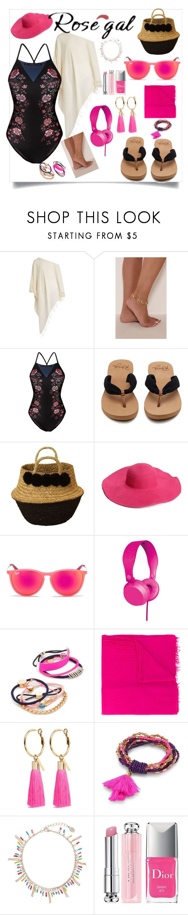 """Untitled #192"" by rozy56 ❤ liked on Polyvore featuring Su Paris, Ray-Ban, By Lilla, Étoile Isabel Marant, Mignonne Gavigan, Robert Rose, Accessorize and Christian Dior"