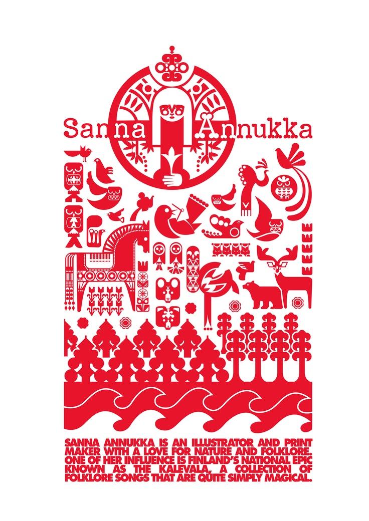 Sanna Annukka - Kalevala