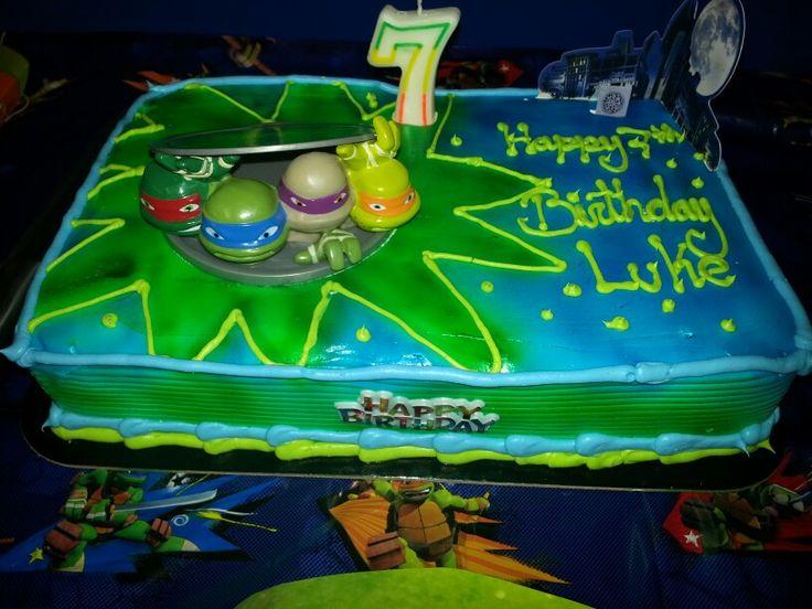 Cake Designs At Sobeys : Ninja Turtle cake from sobeys. Best cakes ever. Birthday ...