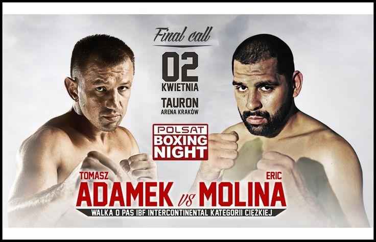 adamek vs molina,Tomasz Adamek vs Eric Molina Pay Per View Boxing Tickets,adamek vs molina live stream,adamek vs molina live Apr 2, 2016,where to watch adamek vs molina