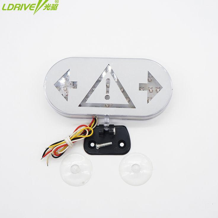Portátil LED rolagem placa de exposição LEVOU Triângulo Sinal de LED Piscando Luz de Advertência LED Strobe Flash Luzes de Aviso de Emergência   32755455679_ru