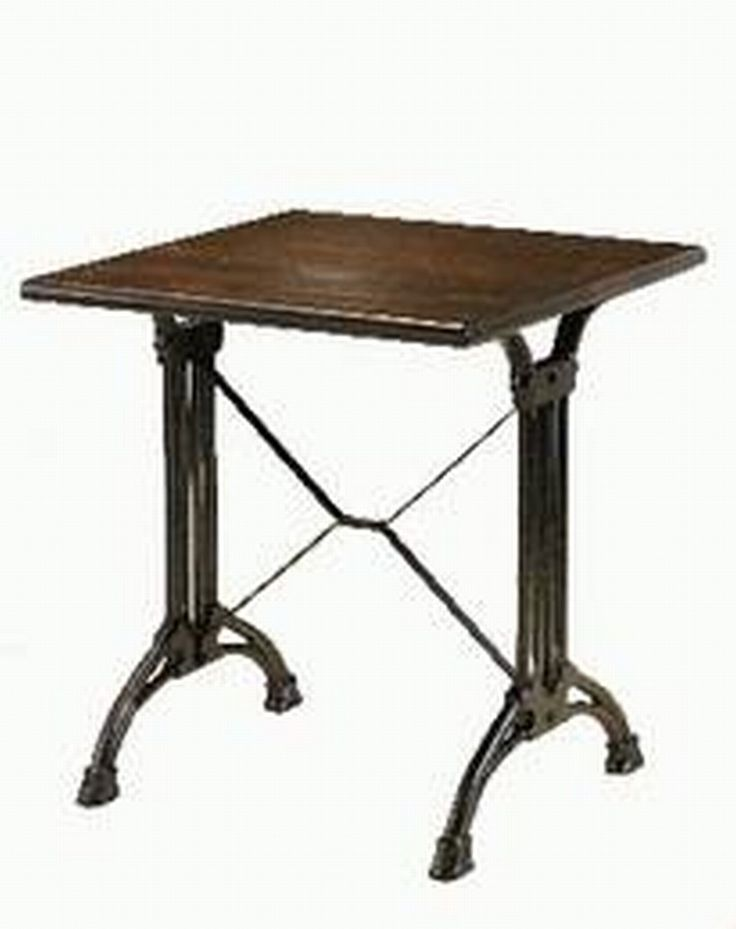 Square Art Deco Cast Iron Table | Restaurant Furniture