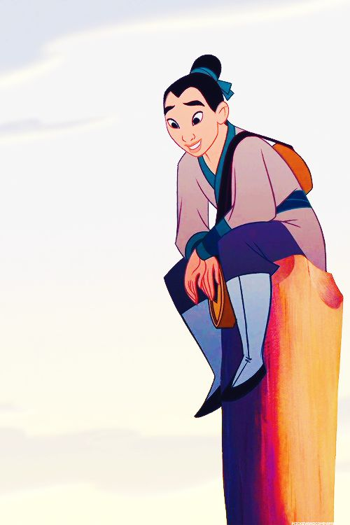 Let's just appreciate Mulan's pure awesomeness for a moment