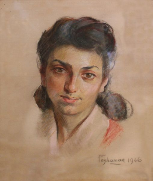 Feyhaman Duran, Mihriban Sözer Keredin, 1946