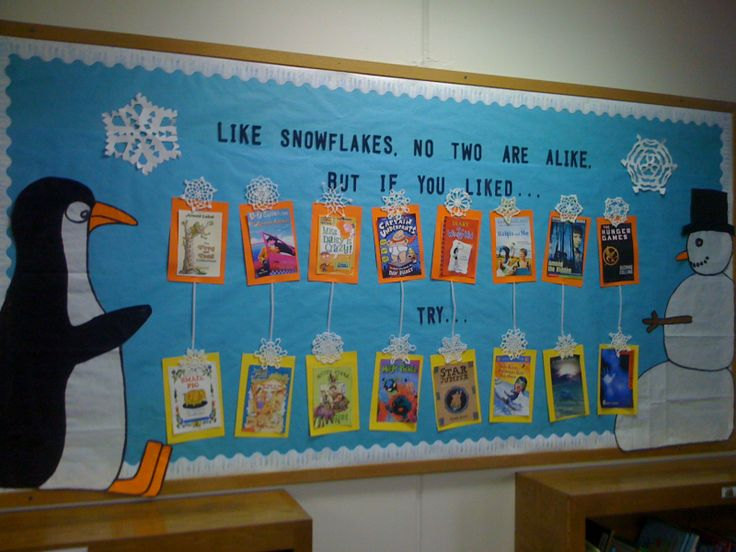 St. John's Library bulletin board winter 2010-2011. If you liked this...try this!